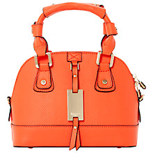 Buy Dune Dinidotty Mini Grab Bag, Orange Online at johnlewis.com