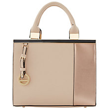 Buy Dune Dortical Colour Block Grab Bag, Nude Online at johnlewis.com