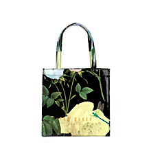 Buy Ted Baker Tincon Icon Shopper Bag, Black Online at johnlewis.com