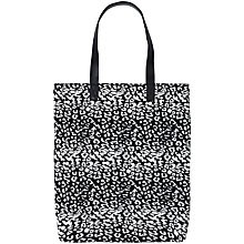Buy Becksondergaard O-Leo Jacquard Tote Bag, Black Online at johnlewis.com