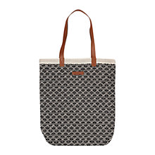 Buy Becksondergaard O-Selma Tote Bag, Black Online at johnlewis.com