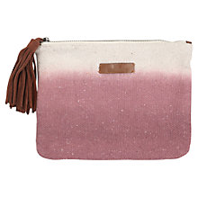 Buy Becksondergaard O-Claire Clutch Bag, Pink Online at johnlewis.com
