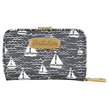 Buy Brakeburn Boats Hut Wallet, Navy Online at johnlewis.com