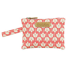 Buy Brakeburn Tulip Flat Purse, Coral Online at johnlewis.com