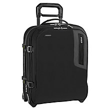 Buy Briggs & Riley BU221XW Explore Wide Body 2-Wheel Suitcase, Black Online at johnlewis.com