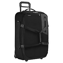 Buy Briggs & Riley BU226X-4 Expedition Large 2-Wheel Suitcase, Black Online at johnlewis.com