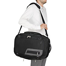 Buy Briggs & Riley BD250X Exchange Medium Holdall, Black Online at johnlewis.com