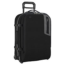 "Buy Briggs & Riley BU226X Explore 17"" Laptop Medium 2-Wheel Suitcase, Black Online at johnlewis.com"