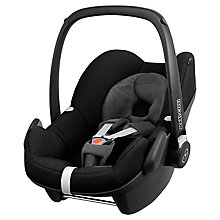 Buy Maxi-Cosi Pebble Group 0+ Baby Car Seat, Black Devotion Online at johnlewis.com