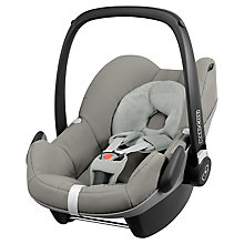 Buy Maxi-Cosi Pebble Infant Carrier, Grey Gravel Online at johnlewis.com