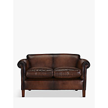 Buy John Lewis Camford Petite Leather Sofa Online at johnlewis.com