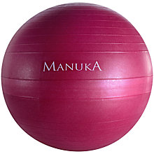 Buy Manuka 65cm Eco Anti-Burst Fitness Ball Online at johnlewis.com