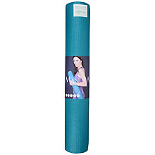 Buy Manuka Eco Mendhi Print Yoga Mat, Teal Online at johnlewis.com