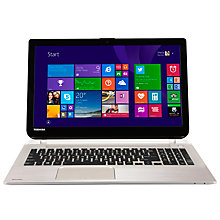 "Buy Toshiba Satellite S50-B-15Q Laptop, Intel Core i7, 16GB RAM, 1TB + 8GB SSHD, 15.6"", Silver Online at johnlewis.com"