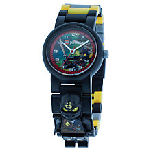 Buy LEGO Ninjago Cole Watch Online at johnlewis.com