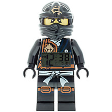 Buy LEGO Ninjago Cole Clock Online at johnlewis.com