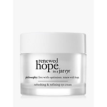 Buy Philosophy Renewed Eye Hope, 15ml Online at johnlewis.com