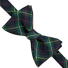 Buy Thomas Pink Tartan Self-Tie Bow Tie Online at johnlewis.com