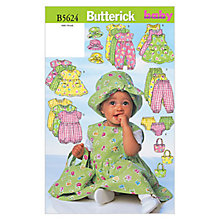 Buy Butterick Children's Dress Sewing Pattern, 5624 Online at johnlewis.com