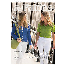 Buy Patons DK Ladies Cardigan and Jacket Knitting Pattern Online at johnlewis.com
