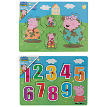 Buy Peppa Pig Peppa's Jigsaw Puzzles, Pack of 2 Online at johnlewis.com