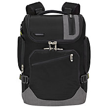 Buy Briggs & Riley BP240 BRX Excursion Backpack, Black Online at johnlewis.com