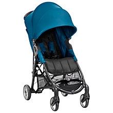 Buy Baby Jogger City Mini Zip Pushchair, Teal Online at johnlewis.com