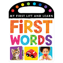 Buy Little Tiger Kids Lift & Learn My First Words Online at johnlewis.com