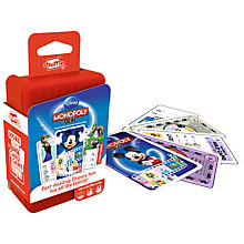 Buy Disney Monopoly Deal Shuffle Card Game Online at johnlewis.com