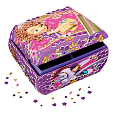 Buy Cool Create Fun Tiles Disney Sophia Jewellery Box Online at johnlewis.com
