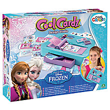 Buy Disney Frozen Cool Cardz Studio Online at johnlewis.com