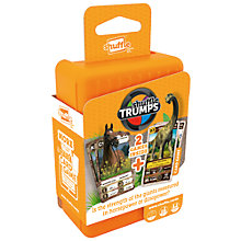 Buy Horses & Dinos Shuffle Trumps Card Games Online at johnlewis.com