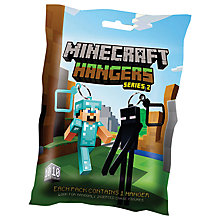 Buy Minecraft Hangers, Series 2, Assorted Online at johnlewis.com