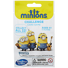 Buy Minions Movie Challenge Card Game, Assorted Online at johnlewis.com