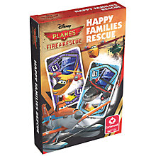 Buy Disney Planes Rescue Happy Families Card Game Online at johnlewis.com