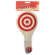 Buy Tobar Wooden Paddleball Online at johnlewis.com