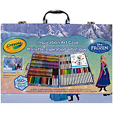 Buy Crayola Disney Frozen Inspiration Art Case Online at johnlewis.com