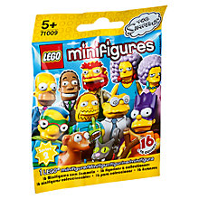 Buy LEGO Simpsons Minifigures, Series 2, Assorted Online at johnlewis.com