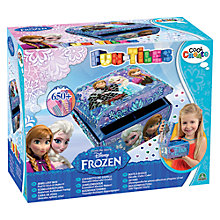 Buy Cool Create Fun Tiles Disney Frozen Jewellery Box Online at johnlewis.com