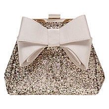 Buy Miss KG Tara Metallic Shoulder Bag, Nude Online at johnlewis.com