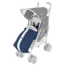 Buy Maclaren XT Footmuff, Medivial Blue Online at johnlewis.com