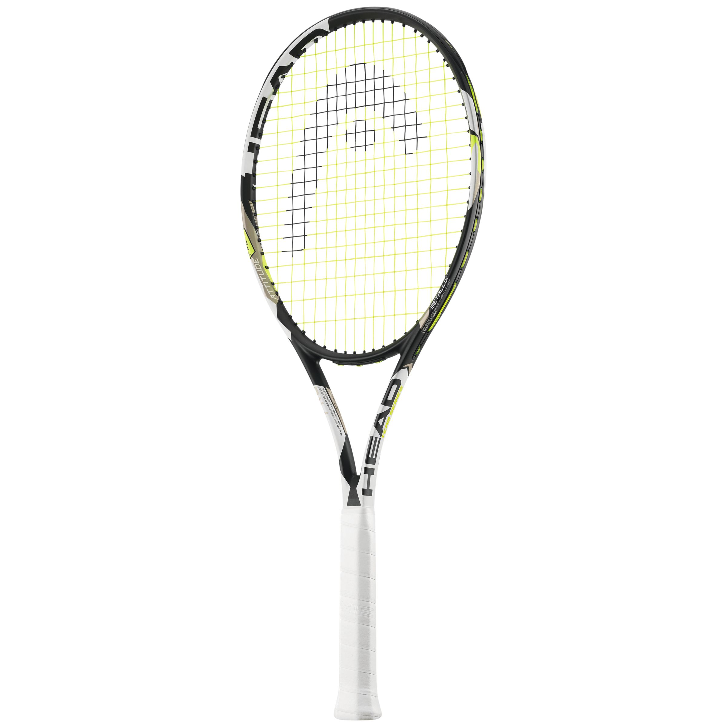 Head Head Attitude Pro Adult Tennis Racket, Black, L3