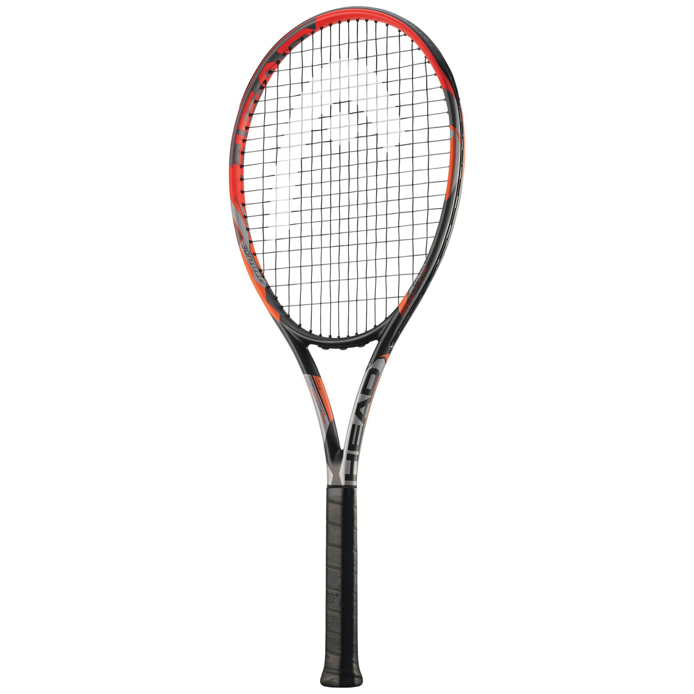 Head Head Attitude Tour Adult Tennis Racket, Orange