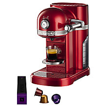 Buy Nespresso Artisan Coffee Machine by KitchenAid Online at johnlewis.com