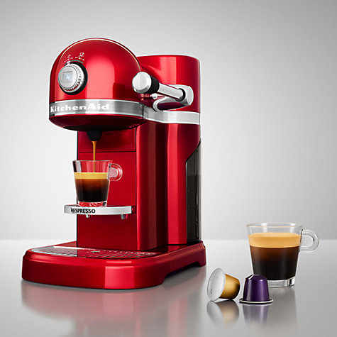 buy nespresso artisan coffee machine by kitchenaid john lewis. Black Bedroom Furniture Sets. Home Design Ideas