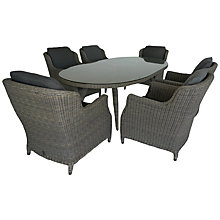 Buy 4 Seasons Outdoor Brighton 6-Seater Oval Dining Set Online at johnlewis.com