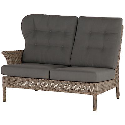 4 Seasons Outdoor Buckingham Modular 2-Seater Right Sofa