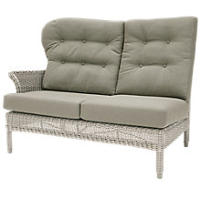 Buy 4 Seasons Outdoor Buckingham Modular 2-Seater Right Sofa, Praia Online at johnlewis.com
