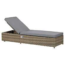 Buy Royalcraft Wentworth Sunlounger Online at johnlewis.com