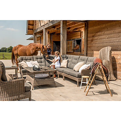 4 Seasons Outdoor Buckingham Modular 2-Seater Left Sofa